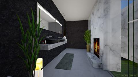 bathroom3 - Modern - Bathroom  - by yaara shemesh
