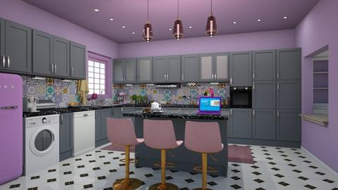 Lisbon - Modern - Kitchen - by Claudia Correia