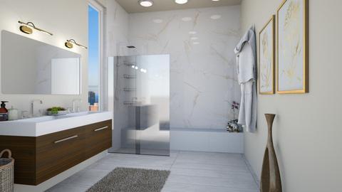 bathoom walk in - Bathroom  - by elhamsal24