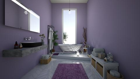Lavander Bathroom - Classic - Bathroom  - by Dragana2212