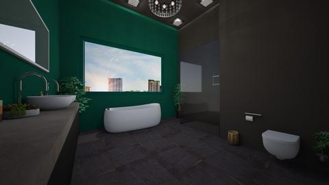 modern bathroom - Bathroom - by mariagirtavic