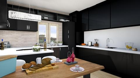Via Aidone - Modern - Kitchen  - by PROGETIM