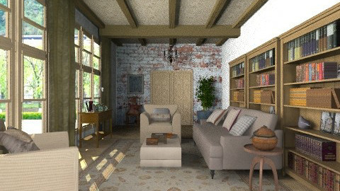 adire - Country - Living room  - by auntiehelen