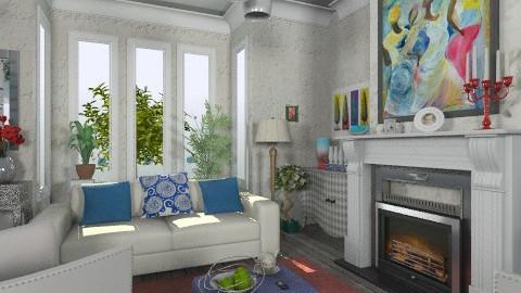 RWB - Eclectic - Living room  - by milyca8