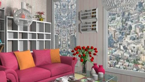 Helen - Glamour - Living room  - by Anna Rainbow