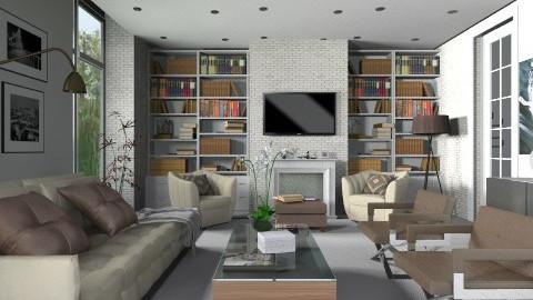living room - Living room  - by XValkhan
