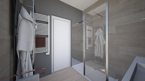 Cologno solo bagno nost9 - Bathroom - by natanibelung