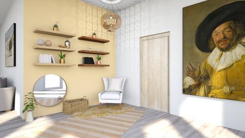 Modern Playful Hallway - by Yate