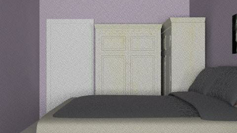 Lina room - Country - Bedroom  - by Jaafar Lina Samniah