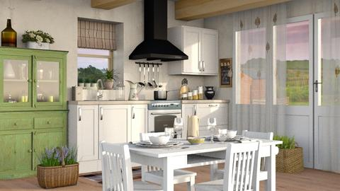 Kitchen 3 - Kitchen - by Sally Simpson