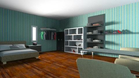 black room - Classic - Bedroom  - by mary_01
