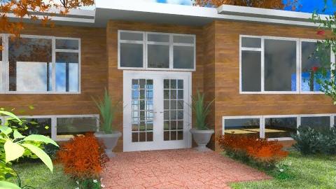Split Level House - Modern - Garden  - by Bibiche