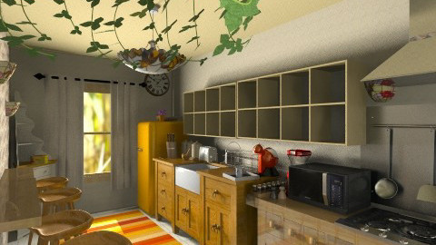 buCATARIA - Rustic - Kitchen  - by ClaUdiA N