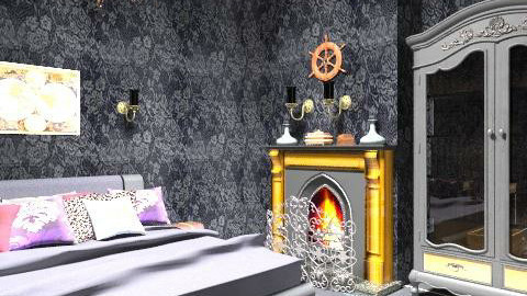 """""""Treasure isn't always silver and gold mate...""""2 - Vintage - Bedroom  - by Charlotte10"""