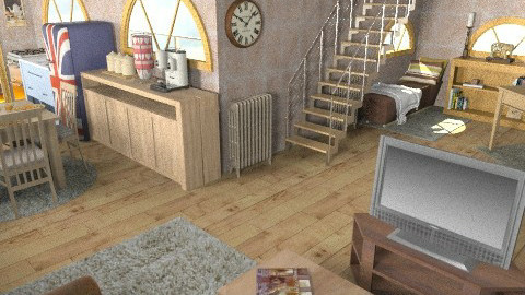 home at last - Retro - Living room  - by deleted_1550519236_sorroweenah