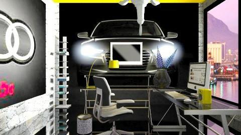 Audi designer  - Minimal - by Nhezart Designs