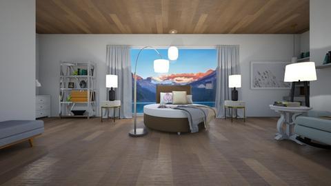 Blurry Bedroom - Modern - Bedroom  - by TortillaChip