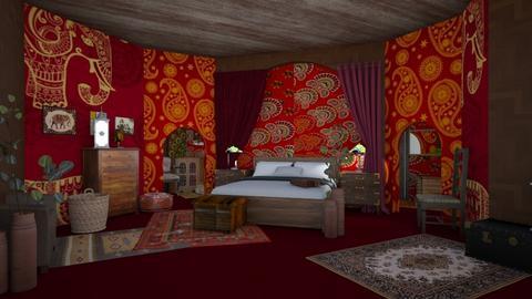 Trad - Bedroom - by ilikalle