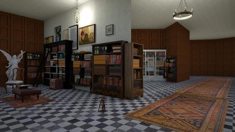 magic bookshop - Vintage - by Happyspaniel