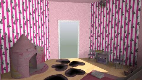 princess - Classic - Bedroom - by zsofitoszegi1