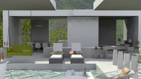 Arizona poolside - Modern - Garden - by mydeco_Jo