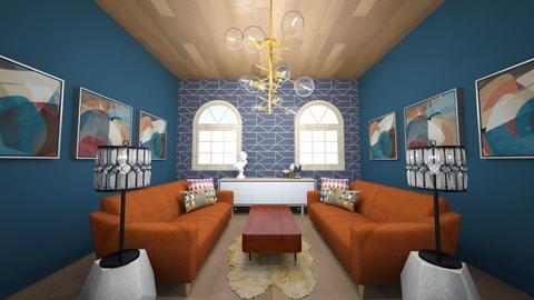 Art Deco Living Room - Retro - Living room  - by Cassandra De Master