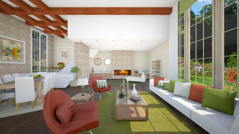 home sweet home - Modern - Living room  - by Senia N