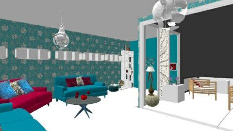 Sunroom  - Dining room - by HazelMP