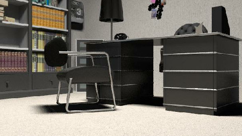 blak office - Minimal - Office  - by miccy