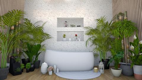 Tropical Bath - Bathroom  - by Mint_2005