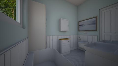 Bathoom 7x10 - Bedroom - by PenAndPaper