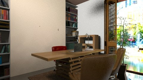 polka Office2 - Vintage - Office  - by javakimmy7