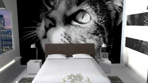 gatto - Modern - Bedroom  - by catcarla