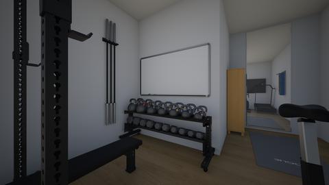 Basement Gym - by rogue_6c99acd4bb89d0cec0a75e80c959c