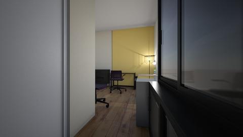 Liggard flat 1 - Living room - by turneri
