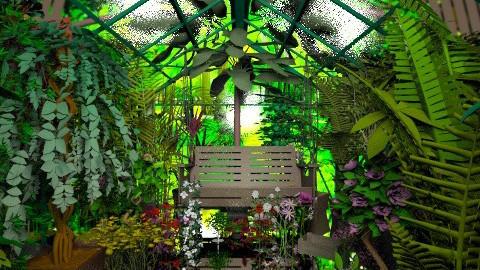 greenhouse - Garden  - by minervinoi