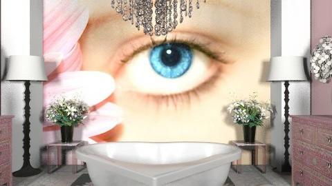 pink/bathroom - Modern - Bathroom  - by decorj