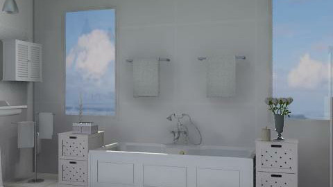 bianco - Classic - Bathroom  - by catcarla