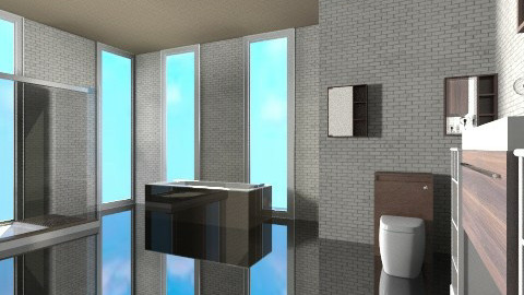 luxury bathroom - Glamour - Bathroom  - by ozge123