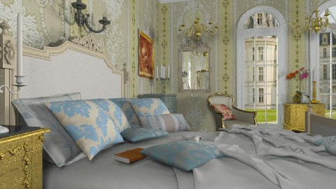 Mozart Bedroom - Classic - Bedroom  - by Bibiche