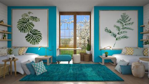 July - Modern - Bedroom  - by LuluDesignStyle