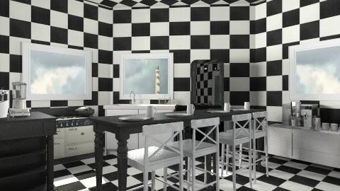 b&w2 - Modern - Kitchen  - by deleted_1550519236_sorroweenah