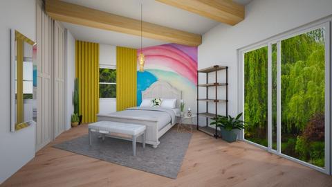 Georgia OKeeffe Bedroom - Bedroom - by isacatwor