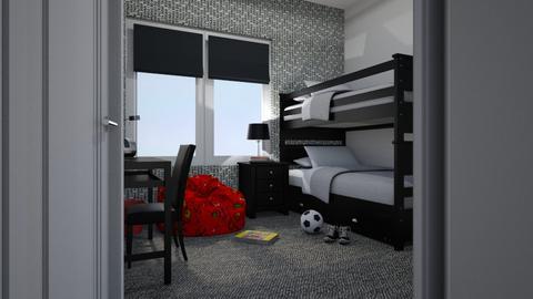 Flat 24 Boys Room - by Valentinapenta