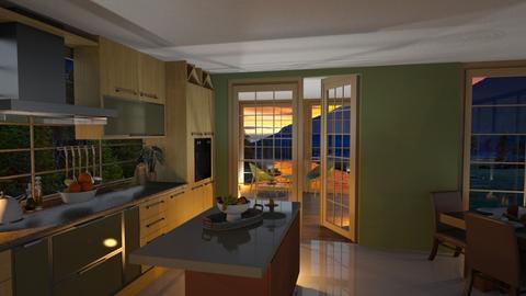 sage - Kitchen  - by aggelidi 12312