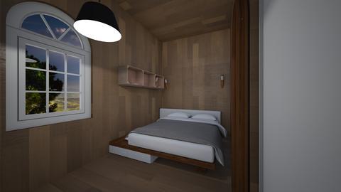 Bedroom   - by saratevdoska