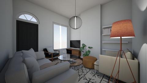 Earthy modern - Modern - Living room  - by brooksj646