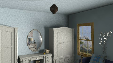 Bedroom Ideas cms3bi - Vintage - Bedroom  - by nonehpets