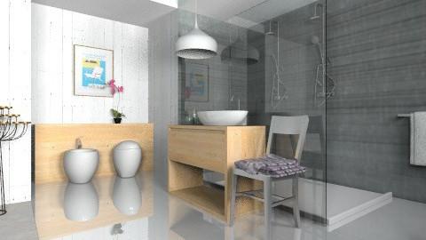 Nuri_Bath - Minimal - Bathroom  - by 3rdfloor