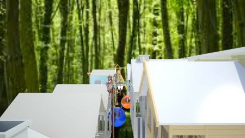hotel - Modern - Garden  - by kikazsu